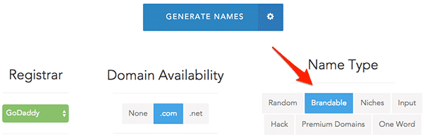 generate domain