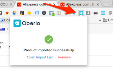 how to add products from aliexpress to shopify