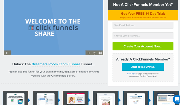 Clickfunnels Sample Websites